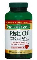Nature's Bounty Fish Oil 1200 мг 180 софтгель
