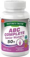 Nature's Truth ABC Complete Women's 50+ 100 каплет