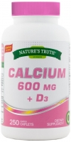 Nature's Truth Calcium 600 mg + D3 250 капс