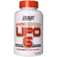 Nutrex Lipo-6 Liquid 120 Capsules