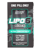 Nutrex lipo 6 black hers ultra concentrate 60 капс