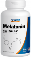 Nutricost Melatonin 5 mg 240 caps