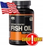 Омега Optimum Nutrition Enteric Coated Fish Oil 100 софтгель