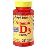 Piping Rock Vitamin D3 250 капс