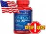 Puritan's Pride Omega-3 (Fish Oil Coated 1000 mg) 100 softgel