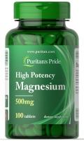 Puritan's Pride Magnesium 100 таблеток