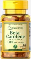 Puritan's Pride Beta Carotine 3,000 мг (10,000IU) 100 софтгель