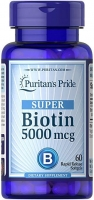 Puritan's Pride Biotin 5,000 мкг 60 капс