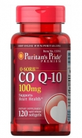 Puritans Pride Coenzyme Q10 100 мг 120 капс
