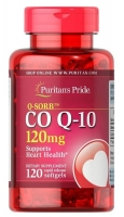 Puritans Pride Coenzyme Q10 120 мг 120 капс