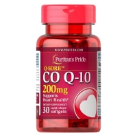 Puritans Pride Coenzyme Q10 200 мг 30 капс