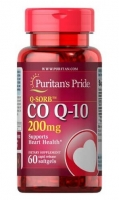 Puritans Pride Coenzyme Q10 200 мг 60 капс