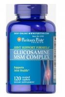 Puritans Pride Glucosamine MSM 120 каплет США