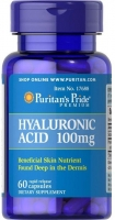 Puritans Pride Hyaluronic Acid 60 капс