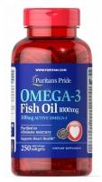 Puritan's Pride Omega-3 Fish Oil 1000 мг 250 капс