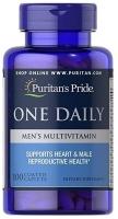 Puritan's Pride One Daily Men's Multivitamin 100 caplets
