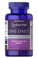 Puritan's Pride One Daily Women's Multivitamin 100 caplets