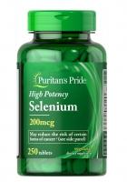 Puritans Pride Selenium 250 таб США