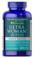 Puritan's Pride Ultra Woman 50 Plus Multi-Vitamin 120 caplets