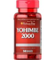 Puritans Pride Yohimbe 2000 50 капс США