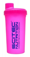 SCITEC Shaker Pink NEON 700ml