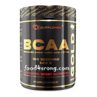 SUPPLEMAX BCAA GOLD UNFLAVORED (100 serving) 500 gramm