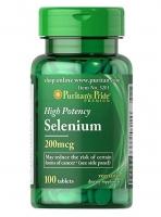 Puritans Pride Selenium 100 таблеток