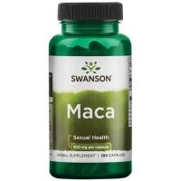 Swanson Maca 500 мг 100 капc