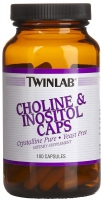 Twinlab Choline & Inositol 100 caps