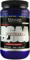 Ultimate Nutrition BCAA 12000 Powder 400 грамм (Без Вкуса!!!)