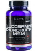 Ultimate Nutrition Glucosamine Chondroitin MSM 90 таблеток