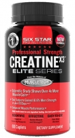 MUSCLETECH Six Star Pro Nutrition Creatine X3 60 капсул