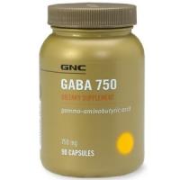GNC GABA 750 мг 90 капс