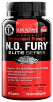 MUSCLETECH Six Star Pro Nutrition N.O. Fury Elite Series 60 капсул