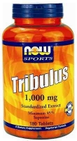 NOW Tribulus 1000 мг 180 таб