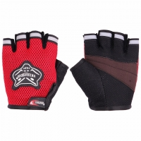 Knighthood gloves red