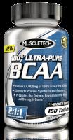 MuscleTech 100% Ultra-Pure BCAA 150 таб