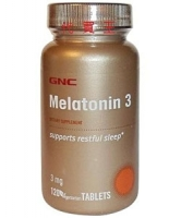 GNC Melatonin 120 капс (3 мг)