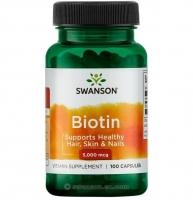 Swanson Biotin 5000 100 капсул