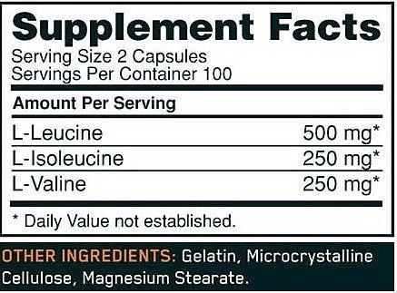 optimum nutrition bcaa 1000 caps 200 капсул купить